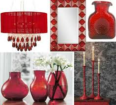 Small Picture ruby red accessories red home decor accessories photo gallery