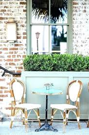cafe style table and chairs bistro style patio table chairs french style patio furniture glass top