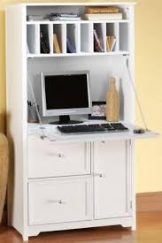 hidden desk furniture. Secretary Desk Fitted With Cabinets And A Lot Of Open Shelves For Storing Documents. Top Hidden Furniture N