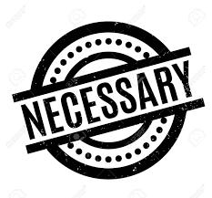 Necessary Design Necessary Text Rubber Stamp Grunge Design