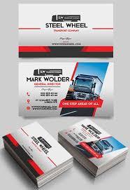 Transport Free Business Card Templates Psd