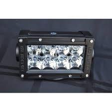 5 Inch Light Bar 24W <b>Flood</b>/<b>Spot 3W LED</b> Chrome DV8 Offroad | Dv8 ...