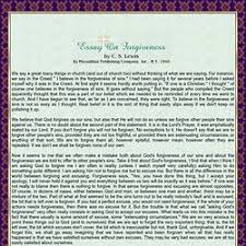 essay writing tips to essays on forgiveness essay on forgiveness and sin 1092 words bartleby
