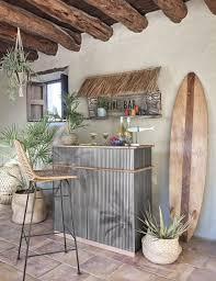 mango wood surfboard wall art 38x180
