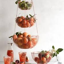 Hanging Wire 3-Tier Fruit Basket