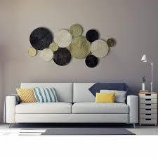 round metal wall hanging decorative