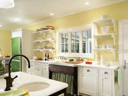 cottage kitchen colors yellow paint for kitchens pictures ideas tips from throughout country