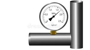gas manometer. gas manometer working. white screen background. stock video - video: 48318387