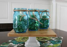 Glass Jar Table Decorations Easy Mason Jar Centerpieces Hoosier Homemade 66
