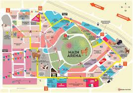 show map  perth royal show