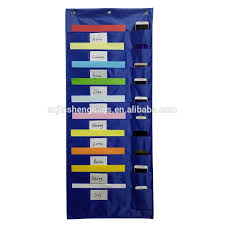 Classroom File Storage Pocket Chart With Phone Holder Buy Storage Pocket Chart File Storage Pocket Chart Storage Pocket Chart With Phone Holder