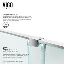 customer photos vigomarketing home shower shower doors vigo ryland adjustable frameless