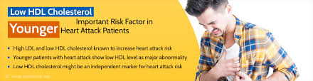 Low Hdl Cholesterol Levels Major Risk For Young Age Heart Attack