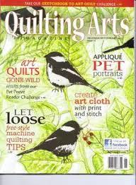 Joan Sowada, Art Quilt, quilting arts magazine, portrait quilt ... & QUILTING ARTS Magazine. #54. Dec/Jan 2012/ Â« Library User Group Adamdwight.com