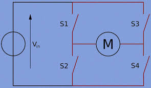 h bridge motor control circuit using l293d ic PWM H-bridge Circuit h bridge circuit