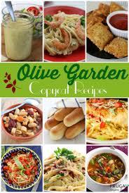 copycat olive garden recipes frugal living collage