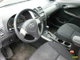 Dark Charcoal Interior 2009 Toyota Corolla S Photo #62481524 ...