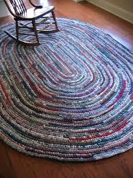 crochet oval rag rug free pattern rag rug eight foot oval hand crocheted a free crochet crochet oval rag rug free pattern