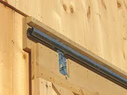 barn door construction how to build sliding doors regarding shed decor 11