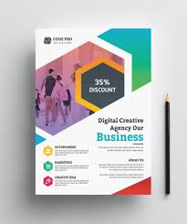 Design Business Flyers Online Education Business Flyer Design Graphic Yard Graphic Templates Store