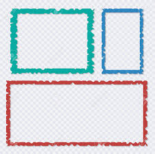 Paper Frames Templates Set Of Color Torn Paper Frames With Shadows Vector Templates