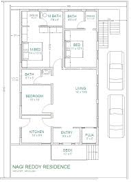 luxurious south facing home plan 30 house plans east face x co
