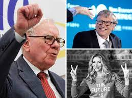 Bill Gates bakes Warren Buffett a birthday cake, Sara Blakely thanks  Berkshire billionaire for the laughs and wisdom - The Economic Times