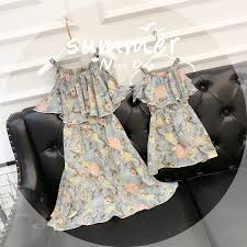 Mother Daughter Dresses 2019 <b>Summer Family Matching outfits</b> ...