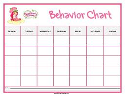 Printable Reward Charts For Good Behavior Download Them Or Print