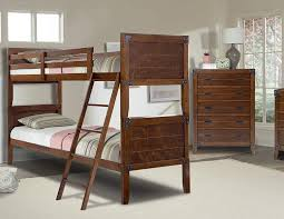 com better homes and gardens 09412 20w union station bunk bed twin twin rustic cherry kitchen dining