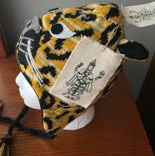 Nirvanna Designs Pop Up Nwt Nirvanna Designs Ch Leopard Gold Black Knit Hat Adult Size