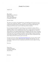 usps cover letter sample examples examples of cover letters for administrative positions