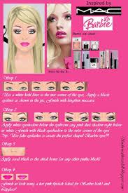 how to do your makeup like barbie with mac makeup