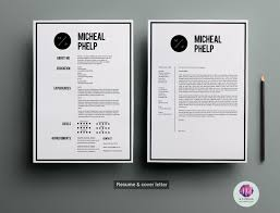 Cv Template Cover Letter Template Resume Templates Creative