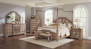 Bedroom White Wood Canopy Bed Queen North Shore Canopy Bedroom ...