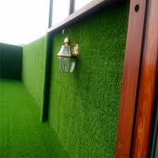 outdoor wall decoration fake grass