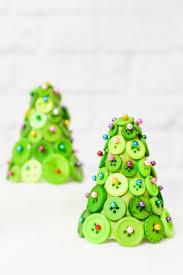 DIY Button Christmas Trees  Hey Letu0027s Make StuffFoam Christmas Tree Crafts