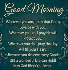 Good Morning Prayer Quote