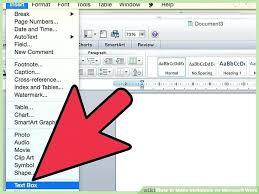 Microsoft Invitation How To Make Ticket Invitations On Microsoft Word Image Titled Make
