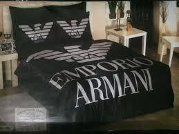 bed linen emporio armani new bedding