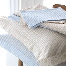 sashi bed linen carlyle striped 100 cotton duvet