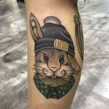 кролик тату фото и значение Foto Tattoo