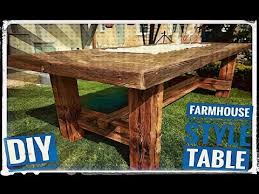reclaimed wood furniture ideas. Making A Farmhouse Table With Old Rustic Wood // DIY Reclaimed Project Furniture Ideas