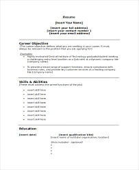 Official Resume Format Magnificent Official Resume Format Download] 28 Images Official Letters