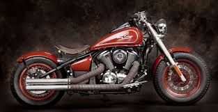 red bobber honda shadow 750 aero red and black bobber motorcycle
