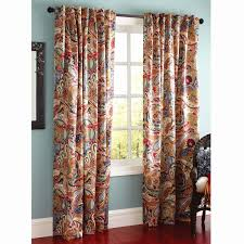 Coral Patterned Curtains Unique Design