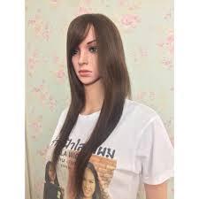 วกผมหนามาผมยาว ทำจากผมแท 100 Shopee Thailand