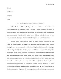 oedipus rex essay good essay topics for oedipus rex college essay  how does oedipus rex exhibits weakness of character english essay how does oedipus rex exhibits weakness