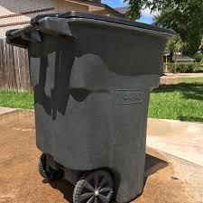 toter 96 gallon. Toter 96 Gallon Wheeled Trash Can