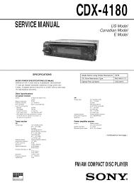 sony cdx gt565up wiring diagram sony image wiring wiring diagram sony cdx 4180 wiring diagrams and schematics on sony cdx gt565up wiring diagram